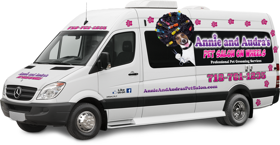 Annie S And Audras Mobile Pet Salon On Staten Island
